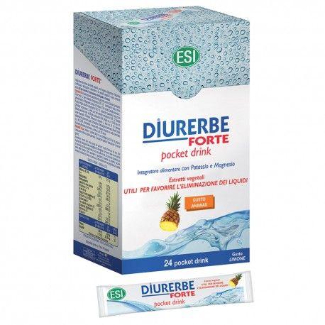 Diurerbe Forte Ananas 24 pocket drink