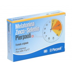 Melatonina Zinco-Selenio 60 compresse