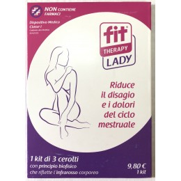 CEROTTI FIT THERAPY LADY 2 kit da 3 cerotti