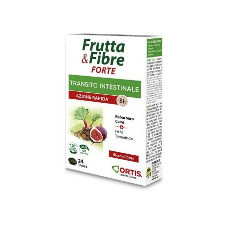 Frutta & Fibre FORTE Transito Intestinale 24 compresse