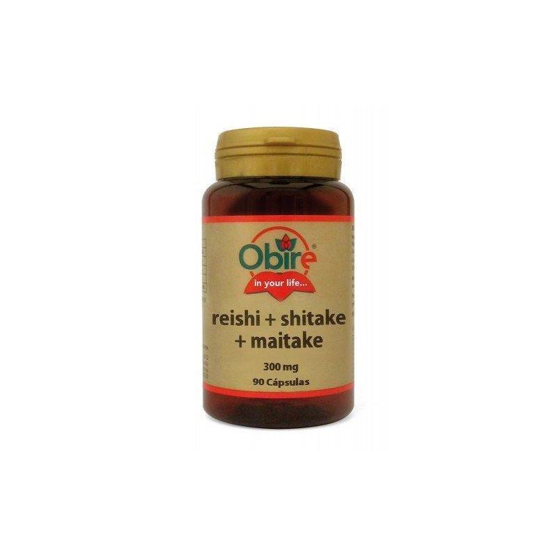 REISHI + SHITAKE + MAITAKE 300mg da 90 capsule