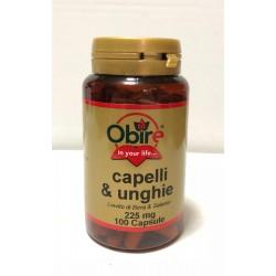 CAPELLI & UNGHIE da 100 capsule con Lievito di Birra & Selenio 225mg