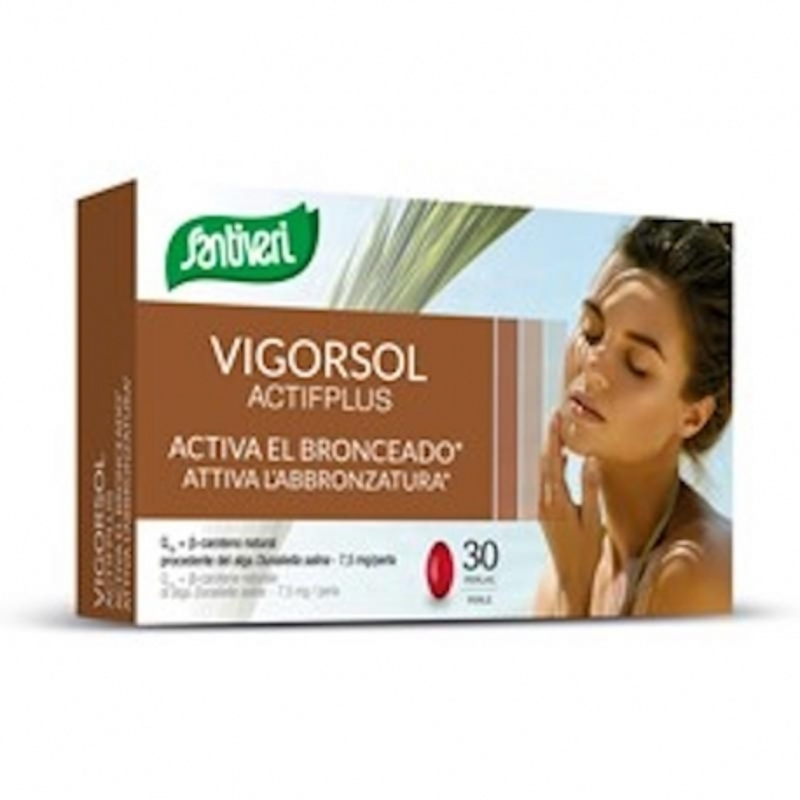 VIGORSOL Actifplus 30 perle